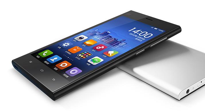 小米3发布 带NFC功能