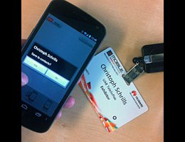NXP将NFC证件卡用于2014国际消费电子展