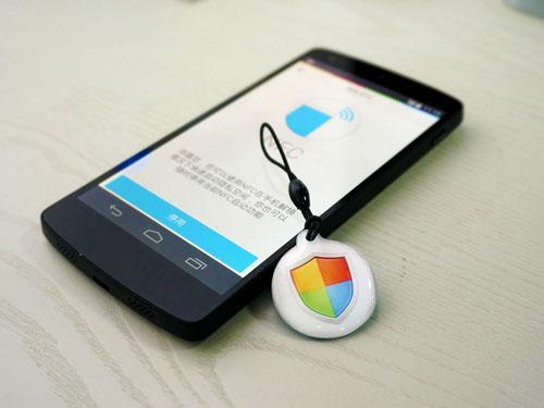 LBE隐私新玩法 NFC tag轻松触碰完美结合