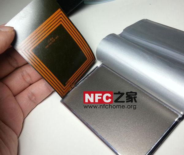 Note3的NFC天线也放在电池上面了