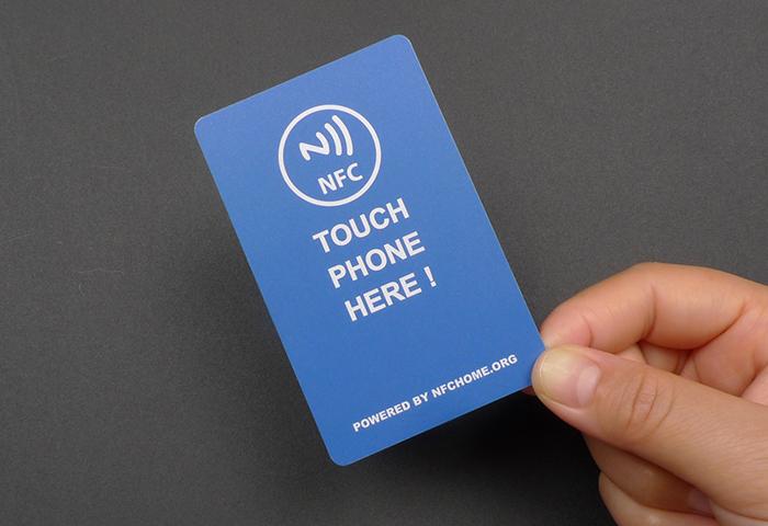 8000字节NFC名片正面