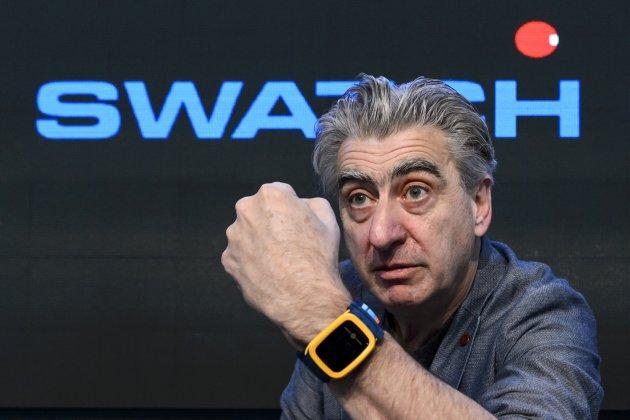 应对苹果手表挑战,Swatch将于8月推出内置NFC功能的智能手表